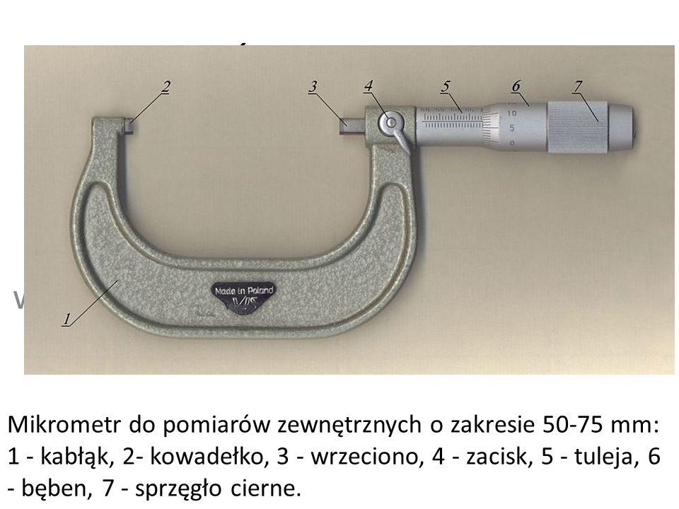 Mikrometr Śruba Mikrometryczna