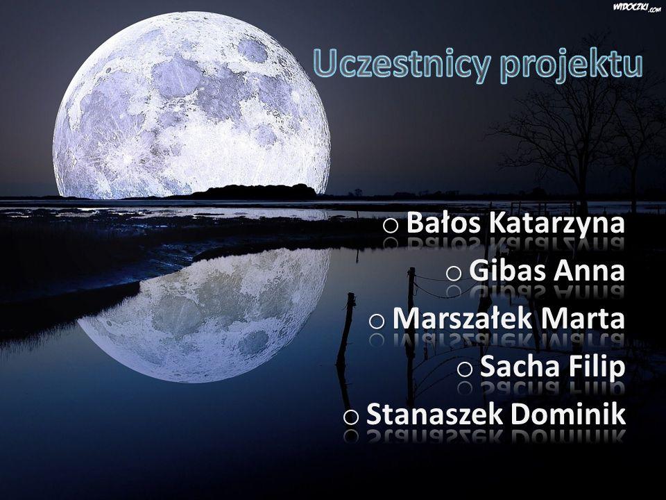 Uczestnicy projektu Bałos Katarzyna Gibas Anna Marszałek Marta