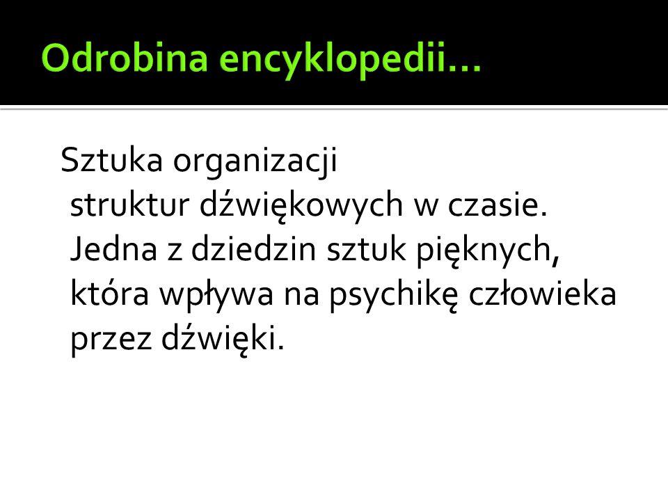 Odrobina encyklopedii…