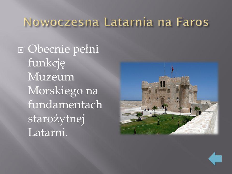 Nowoczesna Latarnia na Faros