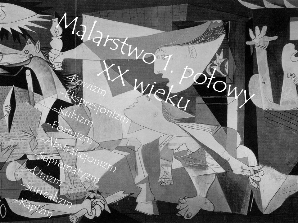 Malarstwo 1. połowy XX wieku