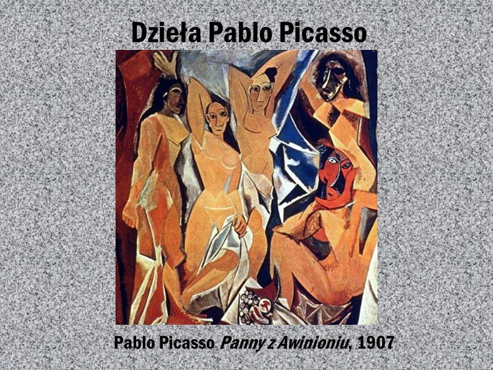 Pablo Picasso Panny z Awinioniu, 1907