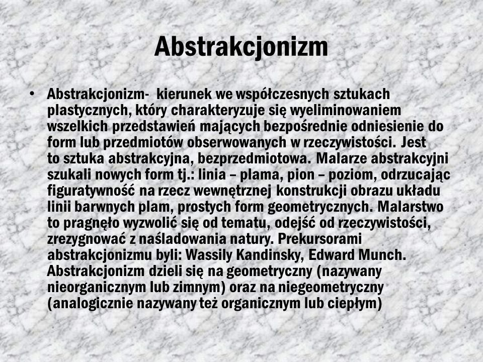 Abstrakcjonizm
