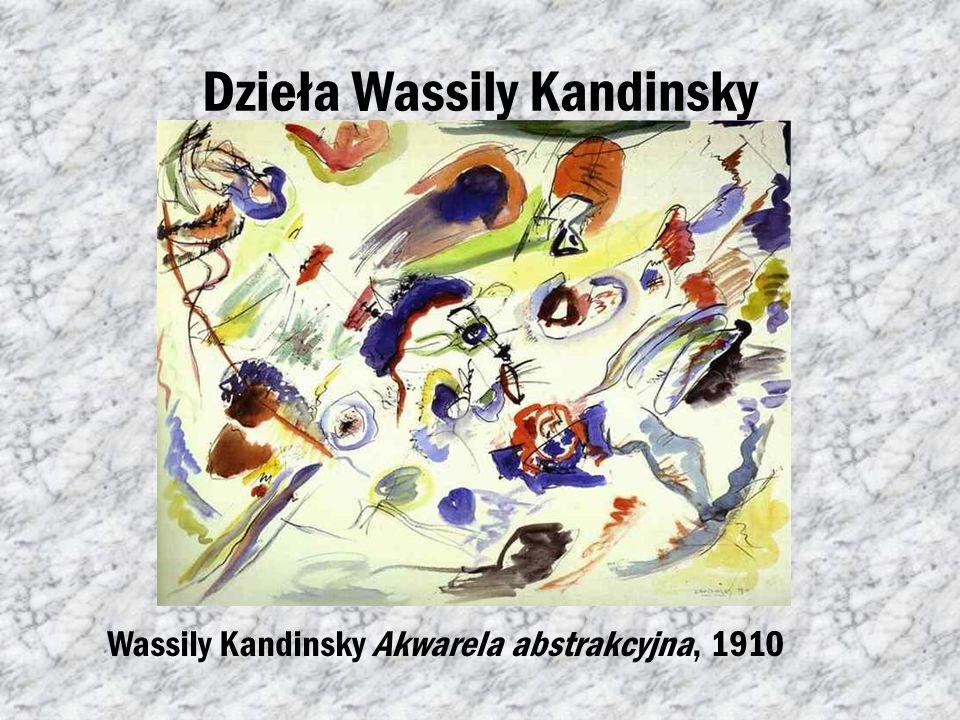 Dzieła Wassily Kandinsky