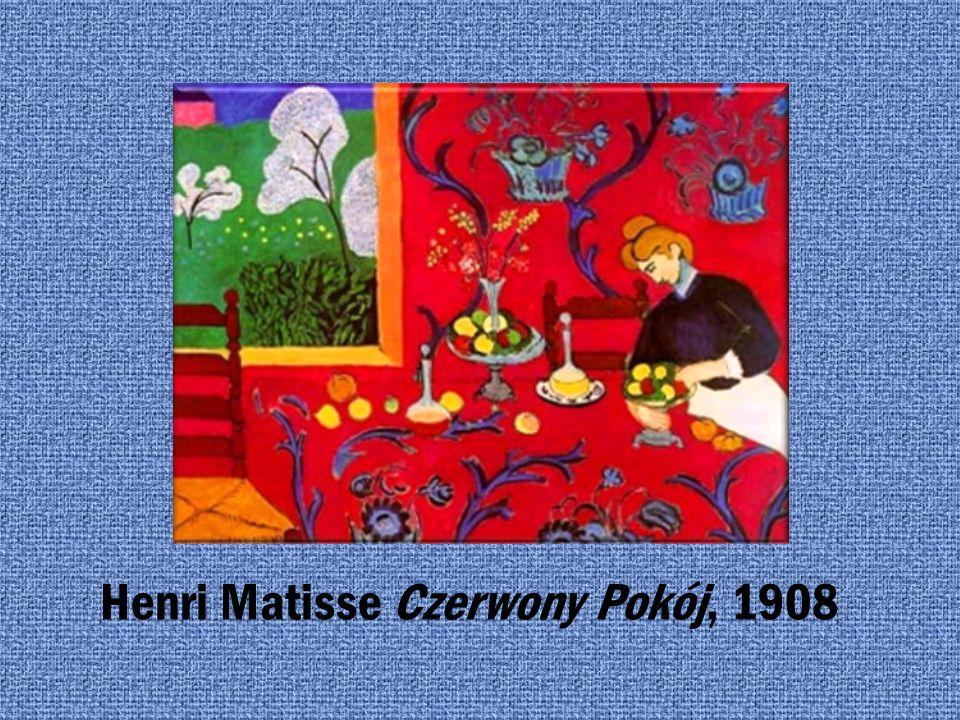 Henri Matisse Czerwony Pokój, 1908