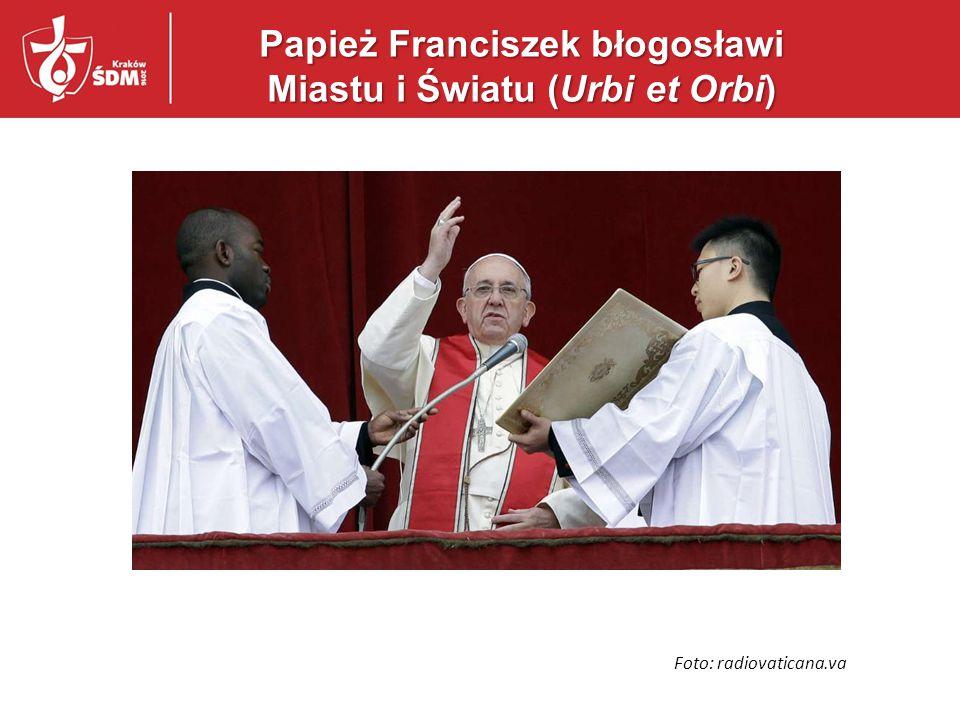Papież Franciszek błogosławi Miastu i Światu (Urbi et Orbi)
