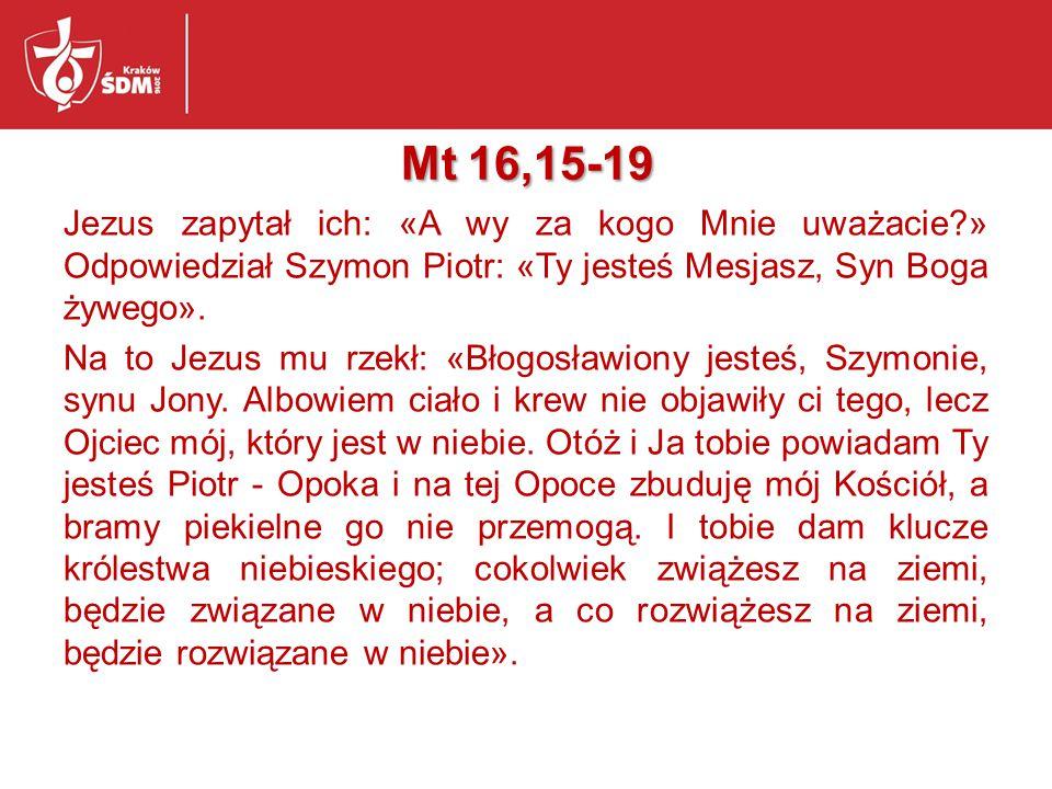 Mt 16,15-19