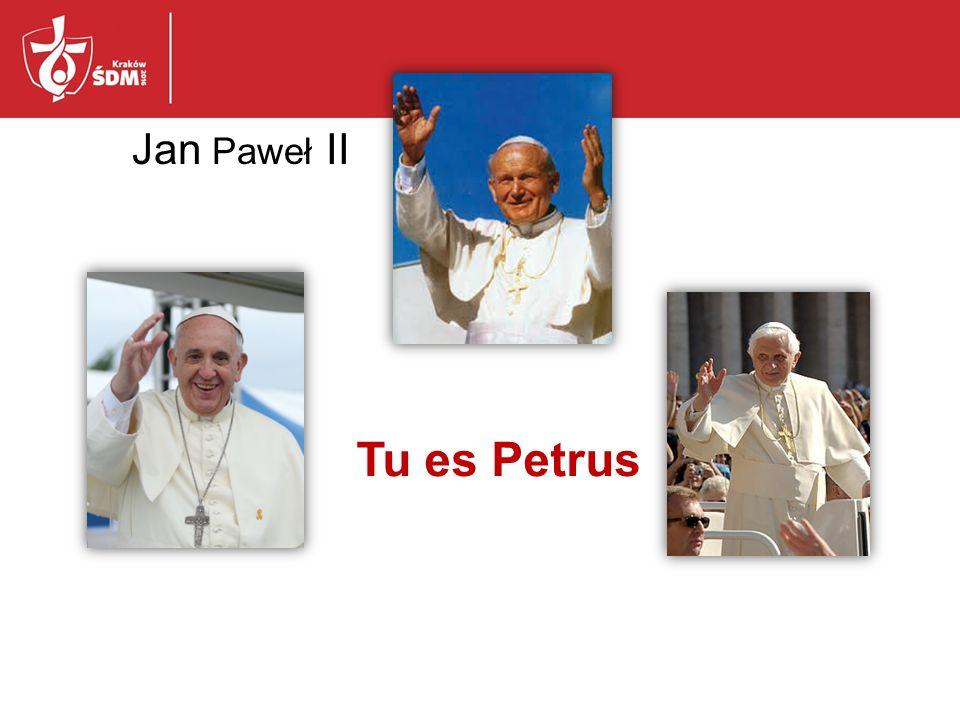 Jan Paweł II Tu es Petrus