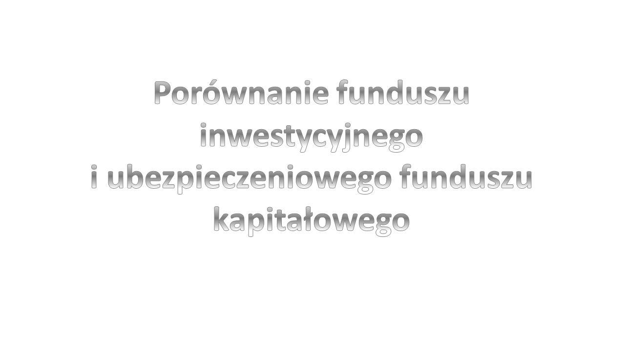 Porównanie funduszu inwestycyjnego i ubezpieczeniowego funduszu