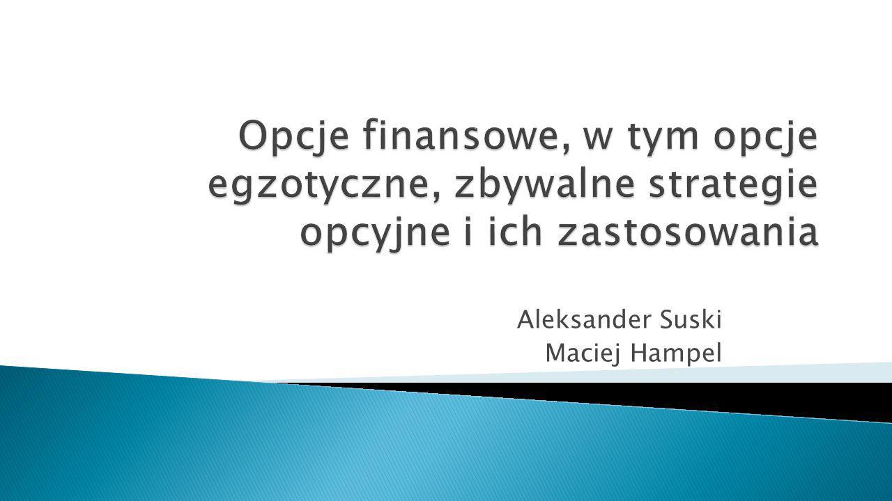 Aleksander Suski Maciej Hampel