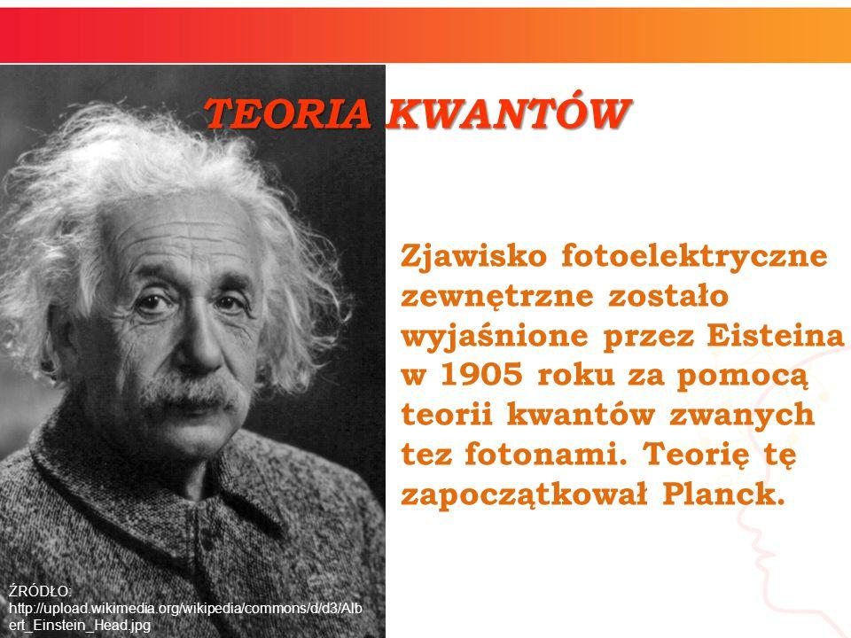 TEORIA KWANTÓW