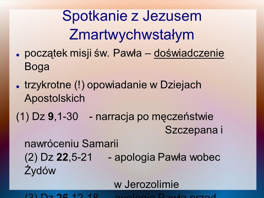 Spotkanie z Jezusem Zmartwychwstałym