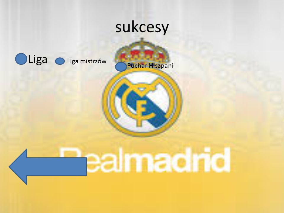 sukcesy Liga Liga mistrzów Puchar Hiszpani