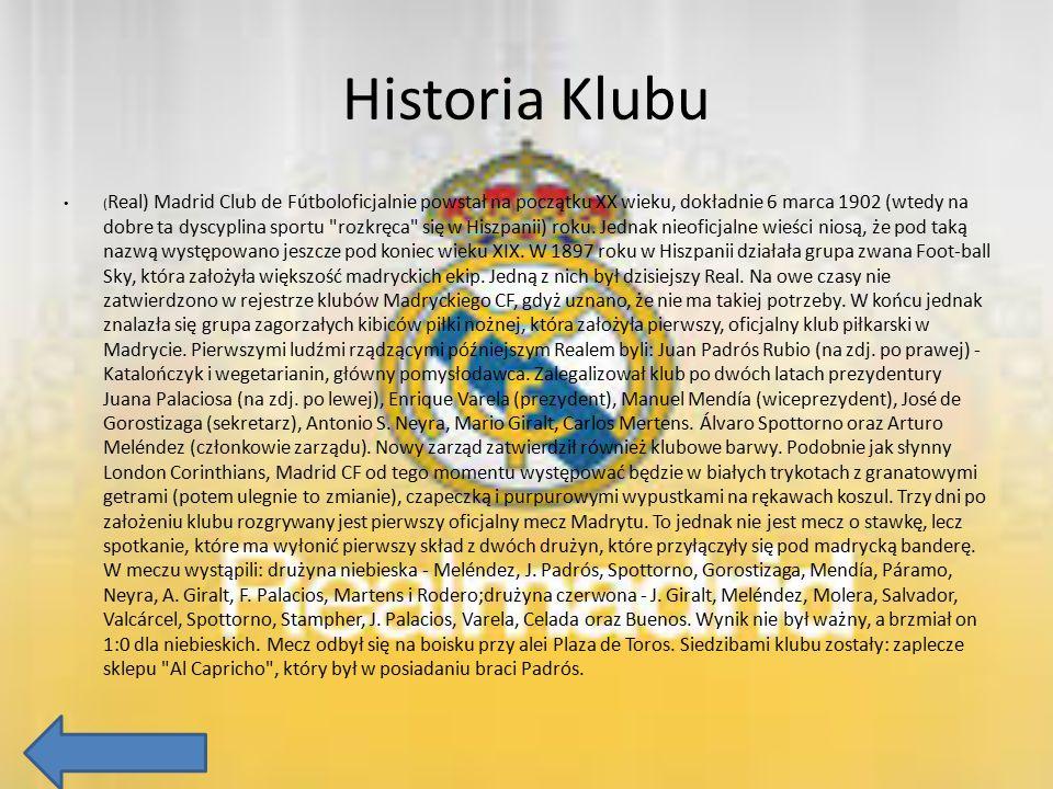 Historia Klubu