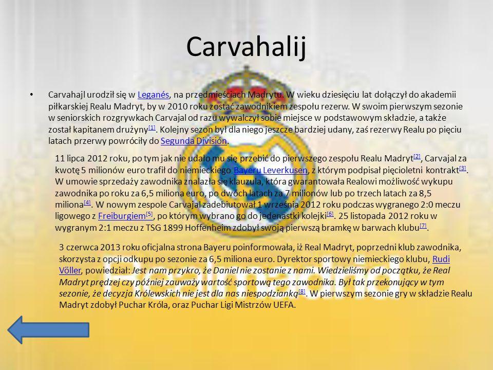 Carvahalij