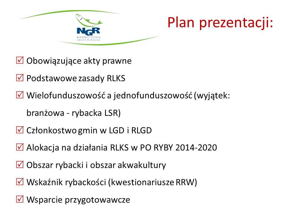 Plan prezentacji: Obowiązujące akty prawne Podstawowe zasady RLKS