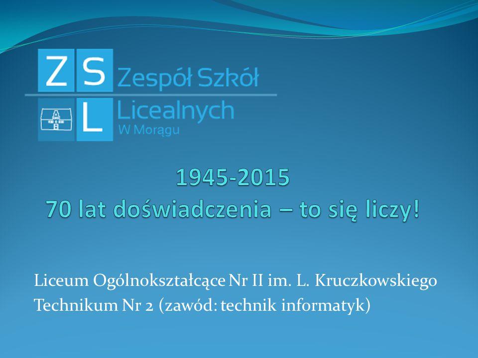 1945-2015 70 lat doświadczenia – to się liczy!