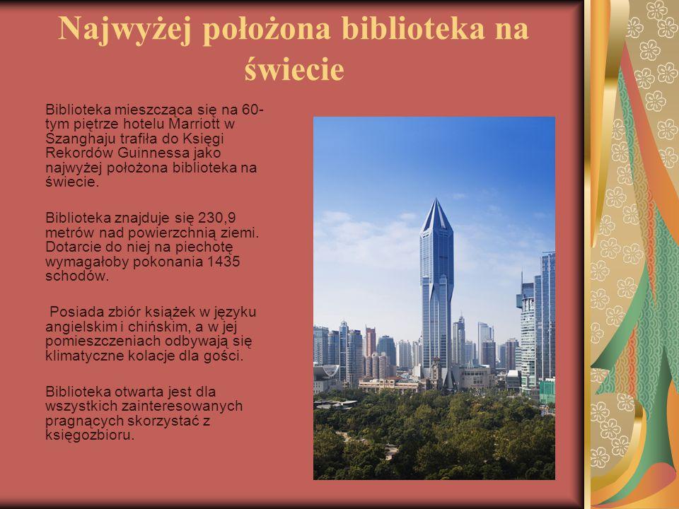 Najwyżej położona biblioteka na świecie