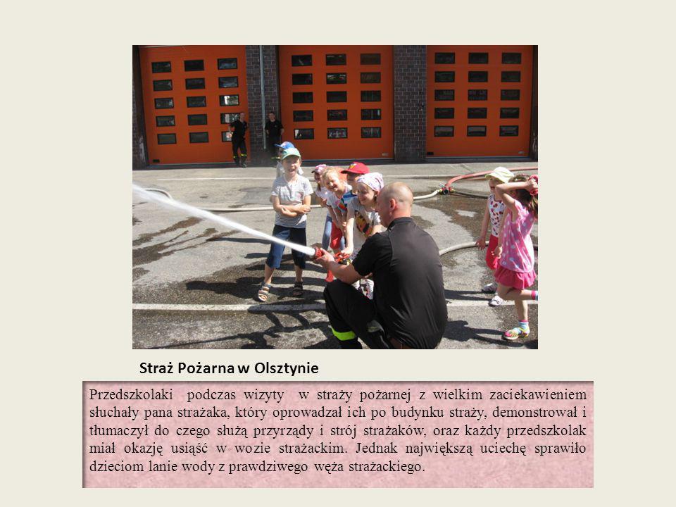 Straż Pożarna w Olsztynie