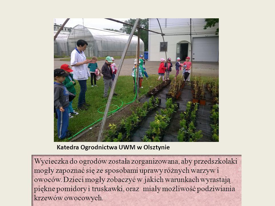 Katedra Ogrodnictwa UWM w Olsztynie