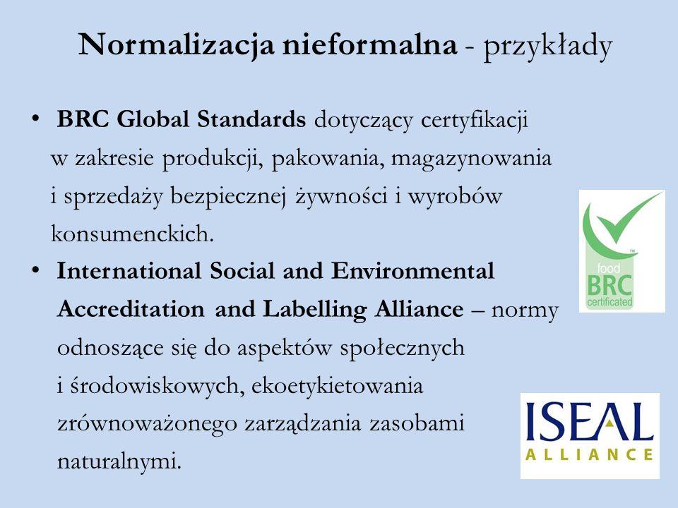 Normalizacja nieformalna - przykłady