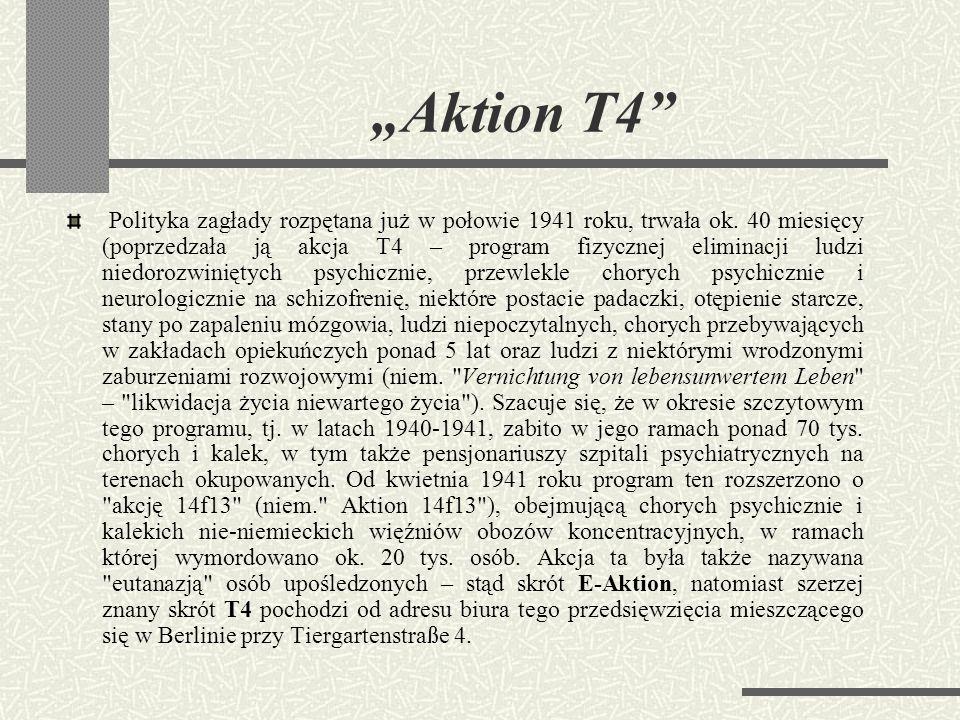 """""""Aktion T4"""