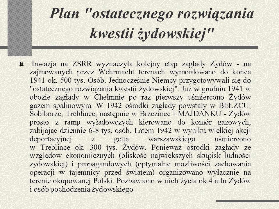 Plan ostatecznego rozwiązania kwestii żydowskiej