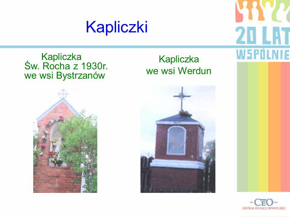 Kapliczki Kapliczka we wsi Werdun