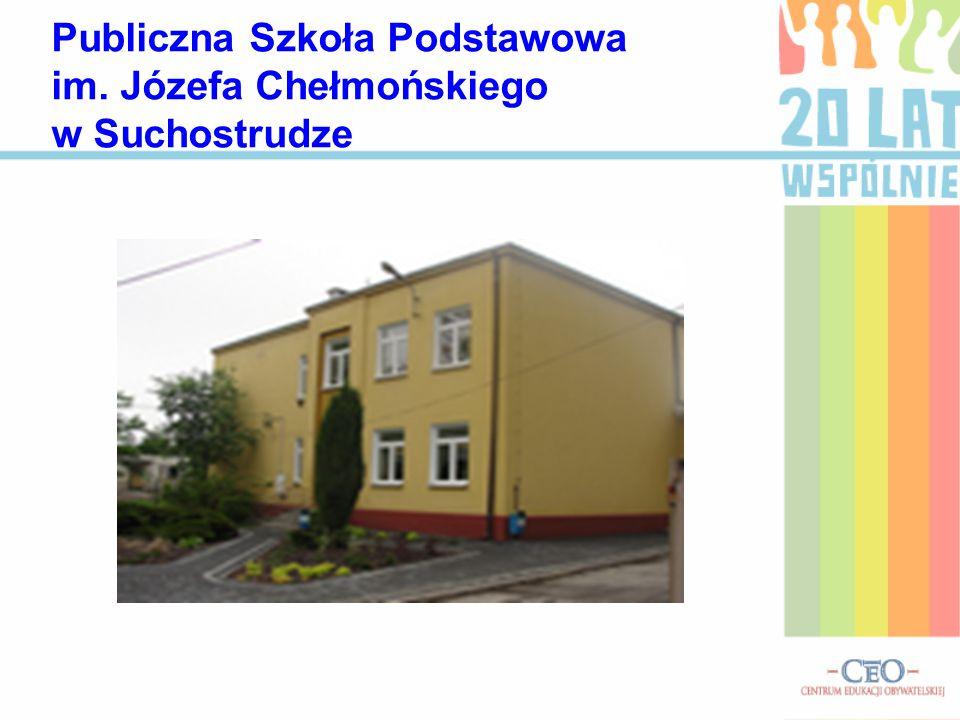 Publiczna Szkoła Podstawowa im. Józefa Chełmońskiego w Suchostrudze