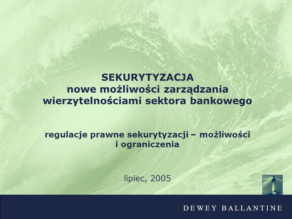 nowe możliwości zarządzania wierzytelnościami sektora bankowego