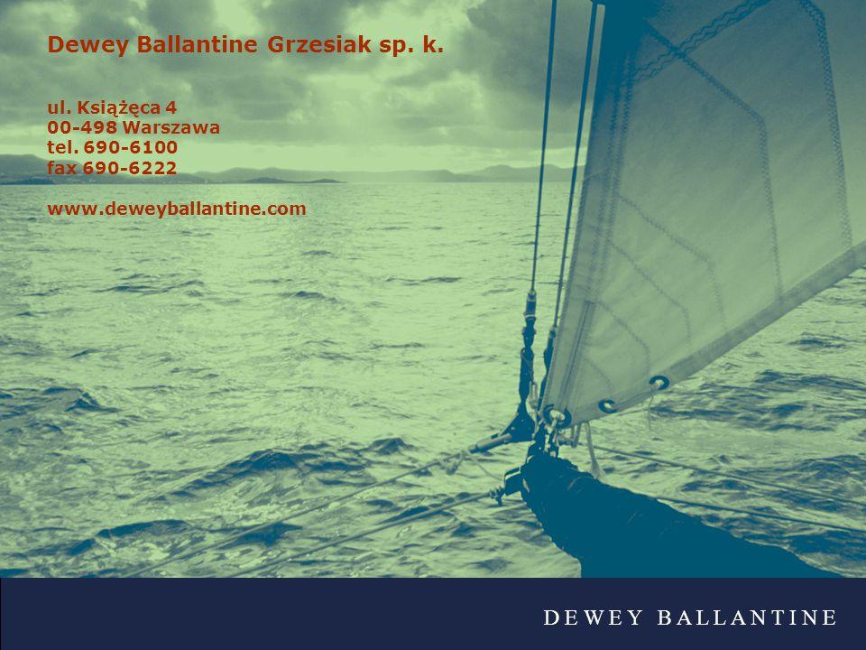 Dewey Ballantine Grzesiak sp. k.