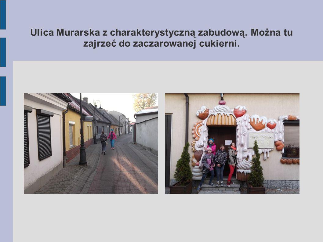 Ulica Murarska z charakterystyczną zabudową