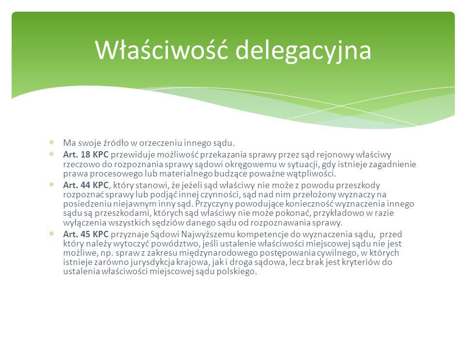 Właściwość delegacyjna