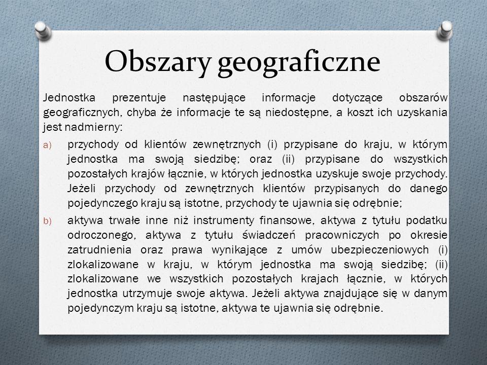 Obszary geograficzne