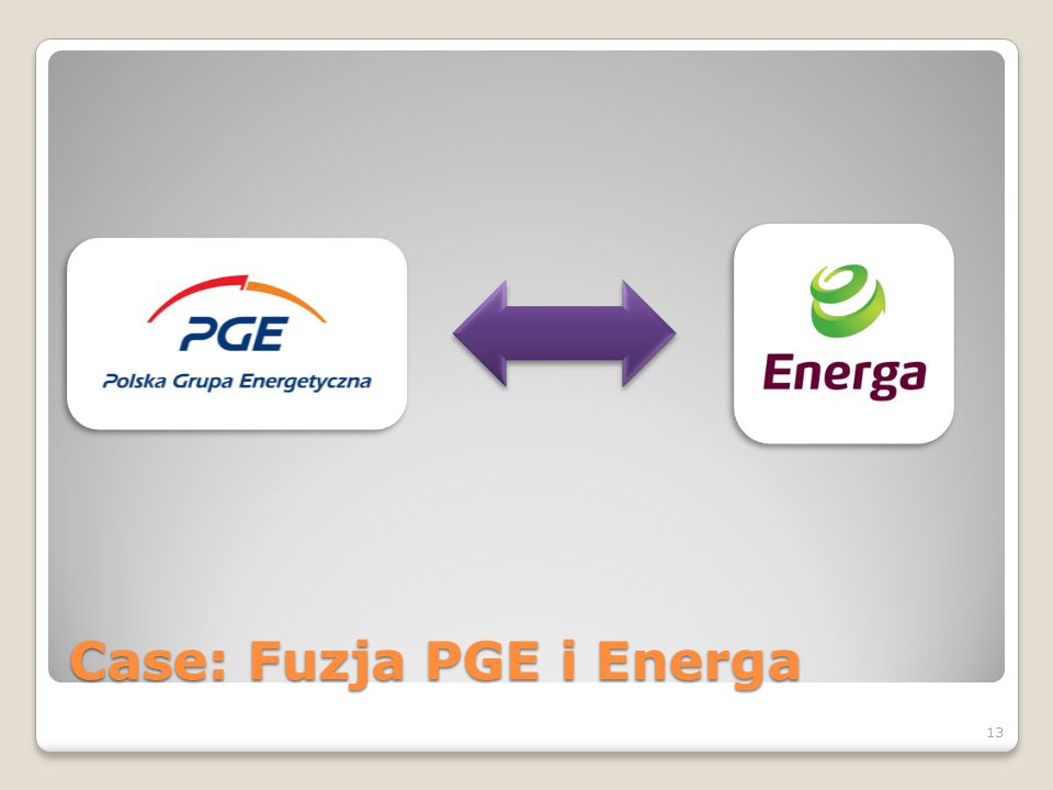 Case: Fuzja PGE i Energa