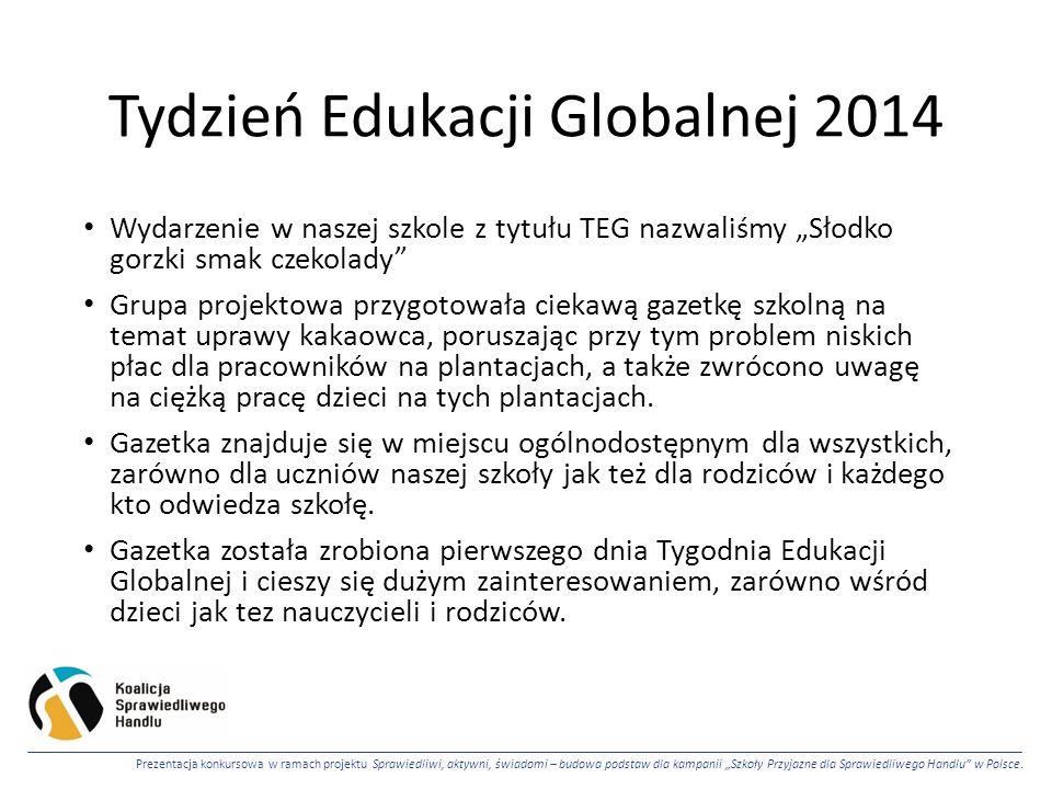 Tydzień Edukacji Globalnej 2014