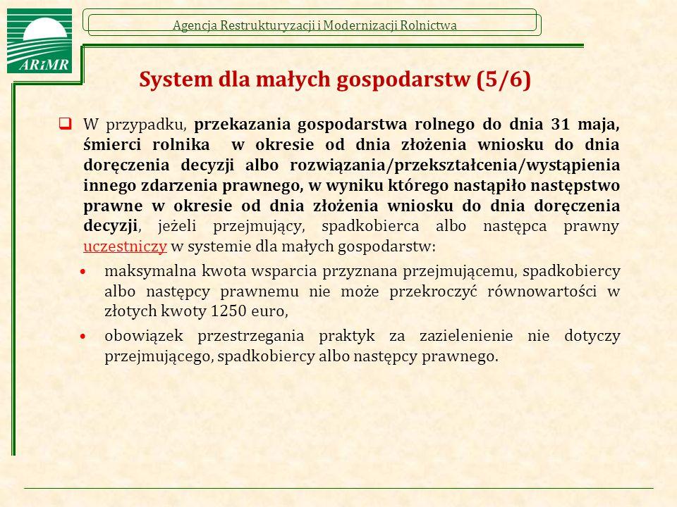 System dla małych gospodarstw (5/6)