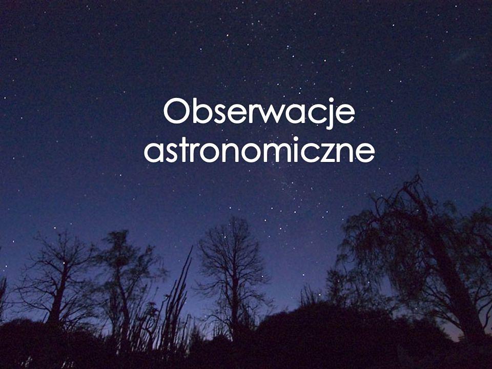Obserwacje astronomiczne
