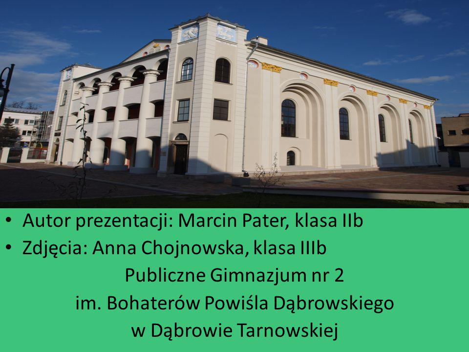 Autor prezentacji: Marcin Pater, klasa IIb