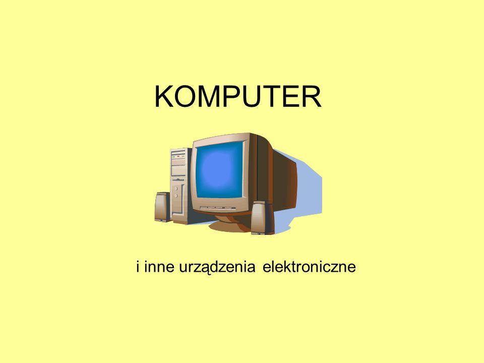 i inne urządzenia elektroniczne