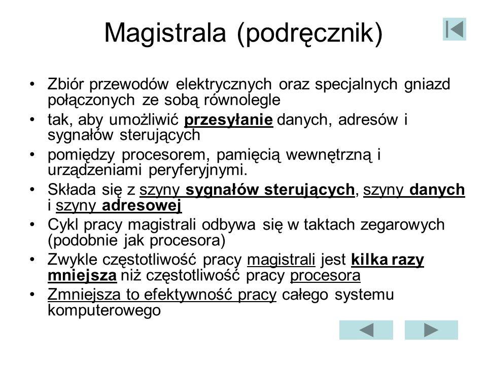 Magistrala (podręcznik)