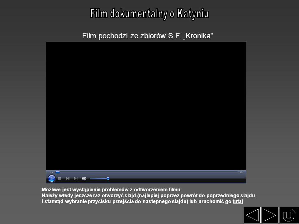 Film dokumentalny o Katyniu