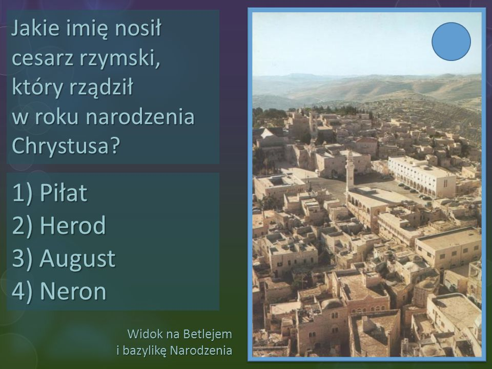 Piłat Herod August Neron