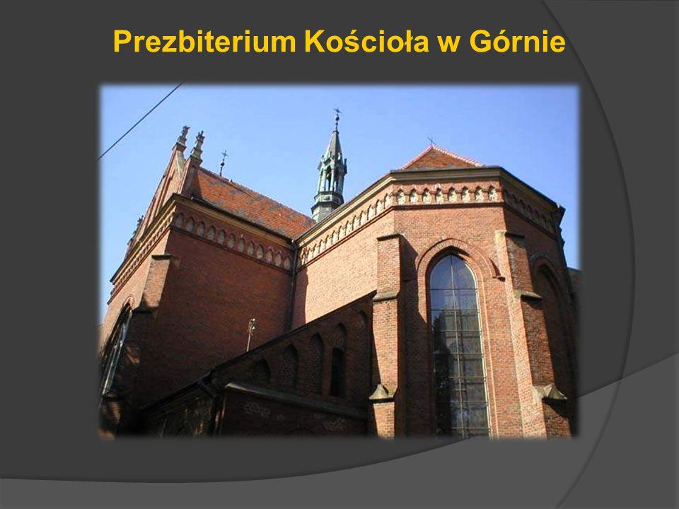 Prezbiterium Kościoła w Górnie