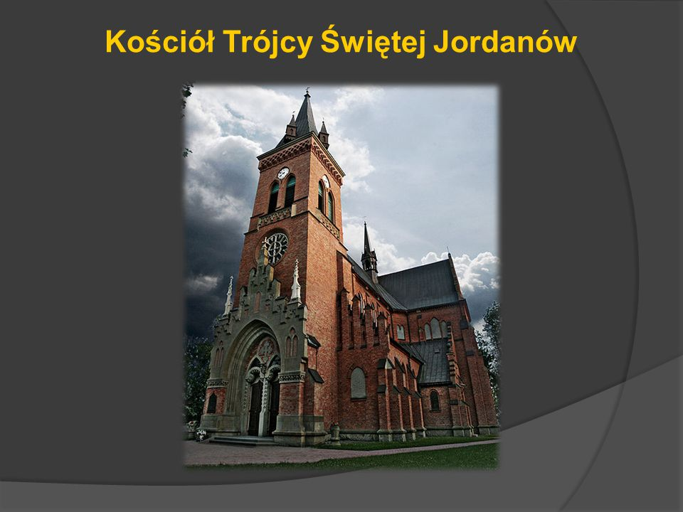 Kościół Trójcy Świętej Jordanów