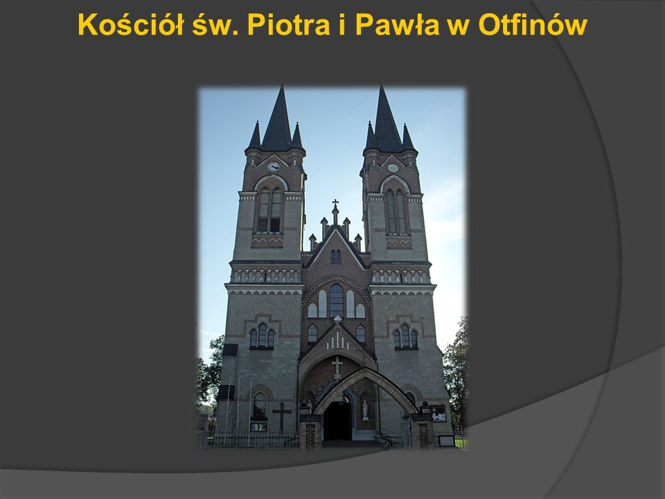 Kościół św. Piotra i Pawła w Otfinów