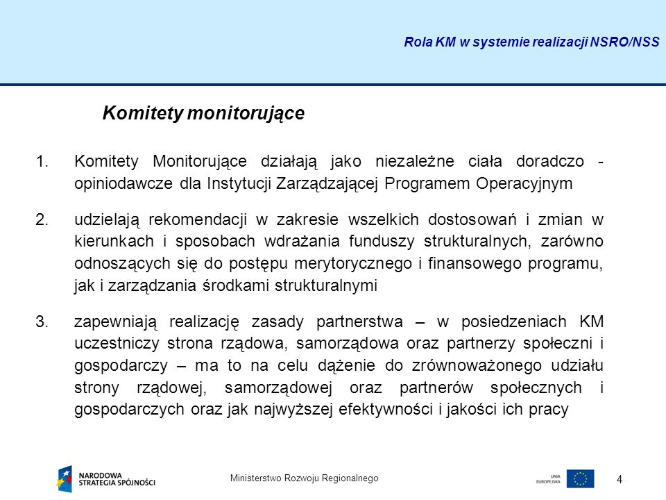 Komitety monitorujące