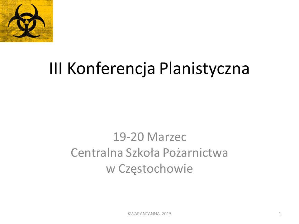III Konferencja Planistyczna