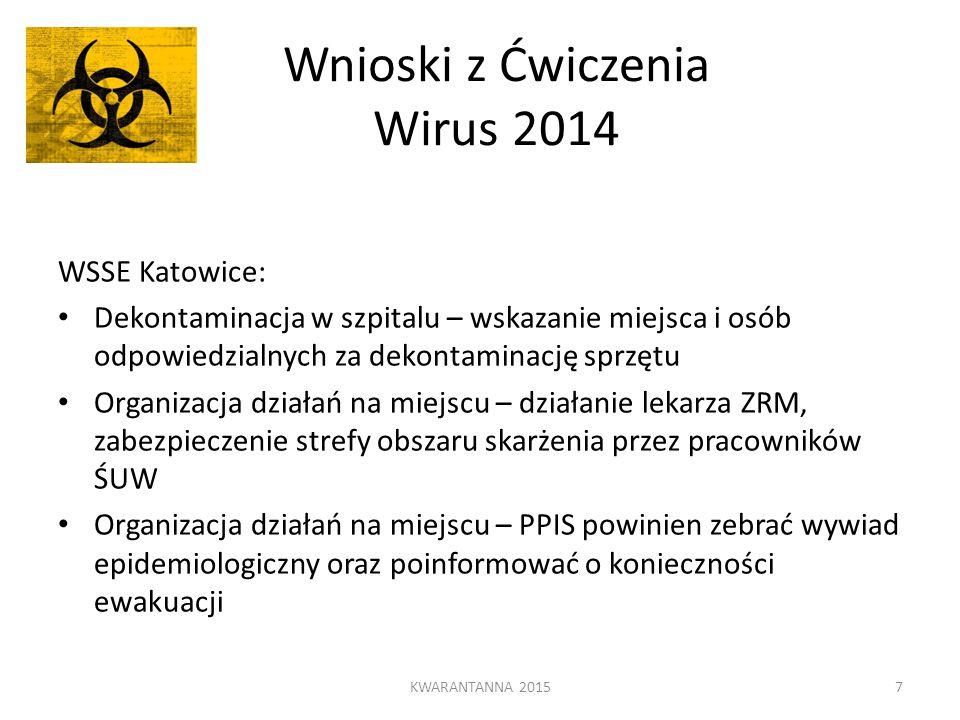 Wnioski z Ćwiczenia Wirus 2014