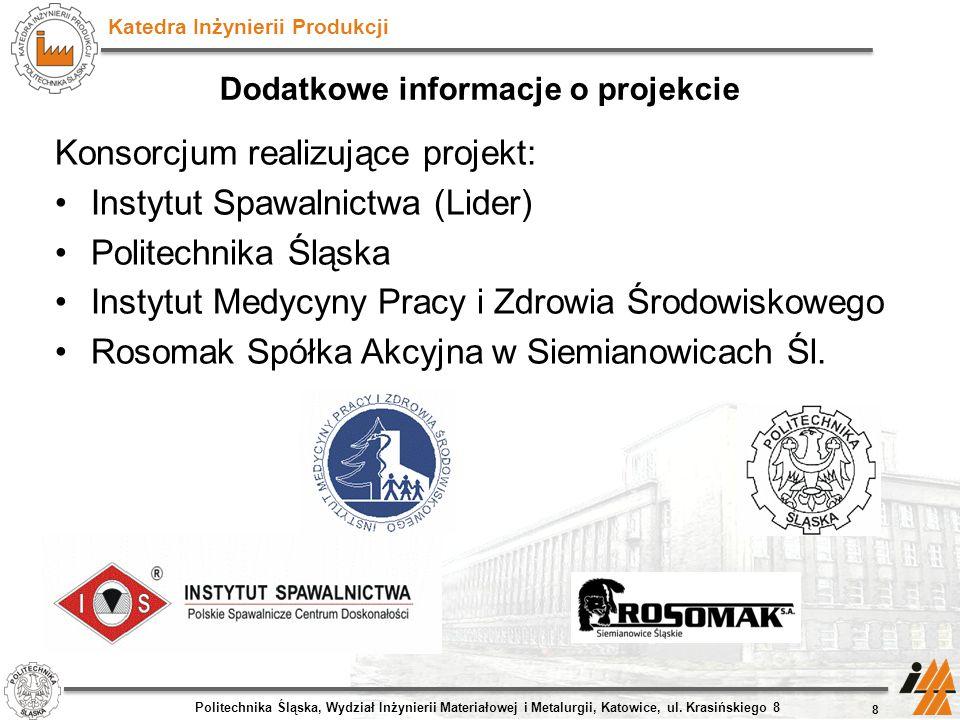 Dodatkowe informacje o projekcie